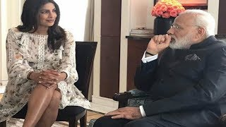 Priyanka Chopra ATTACKED for 'showing legs' to Indian PM Modi