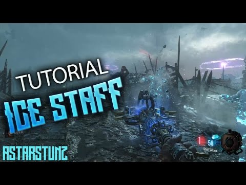 """ICE STAFF"" BO3 Origins - How To Build Staff (Zombies Chronicles DLC5)"