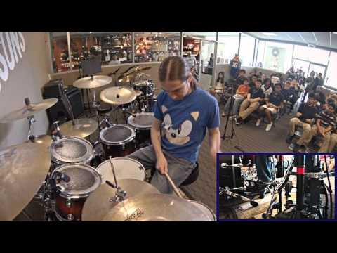 "Dream Theater ""Dance of Eternity"" Drums by Chris (DRUM COVER)"