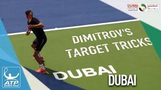 Dimitrov's Target Tricks In Dubai 2018