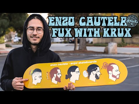Enzo Cautela FUX with KRUX! | Krux Trucks