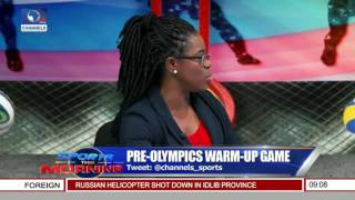 Sports This Morning: USA Beat Nigeria In Basket Ball Pre-Olympic Game
