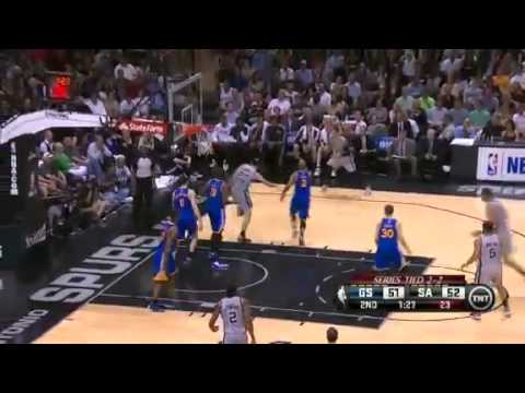 Golden State Warriors Vs San Antonio Spurs - NBA Playoffs 2013 Game 5 - Full Highlights 5/14/13
