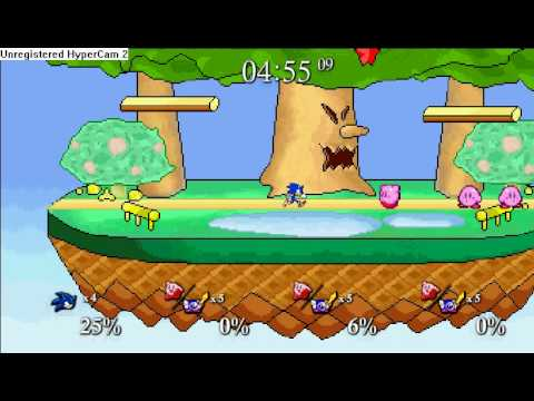 Super Smash Flash: Unlocking Super Sonic