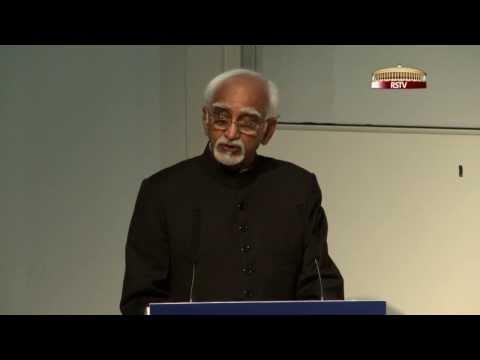 Shri M Hamid Ansari's lecture at the Oxford Centre for Islamic Studies, UK