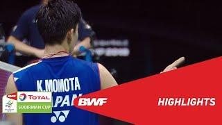 TOTAL BWF SUDIRMAN CUP 2019 | MS | MALAYSIA VS JAPAN | BWF 2019