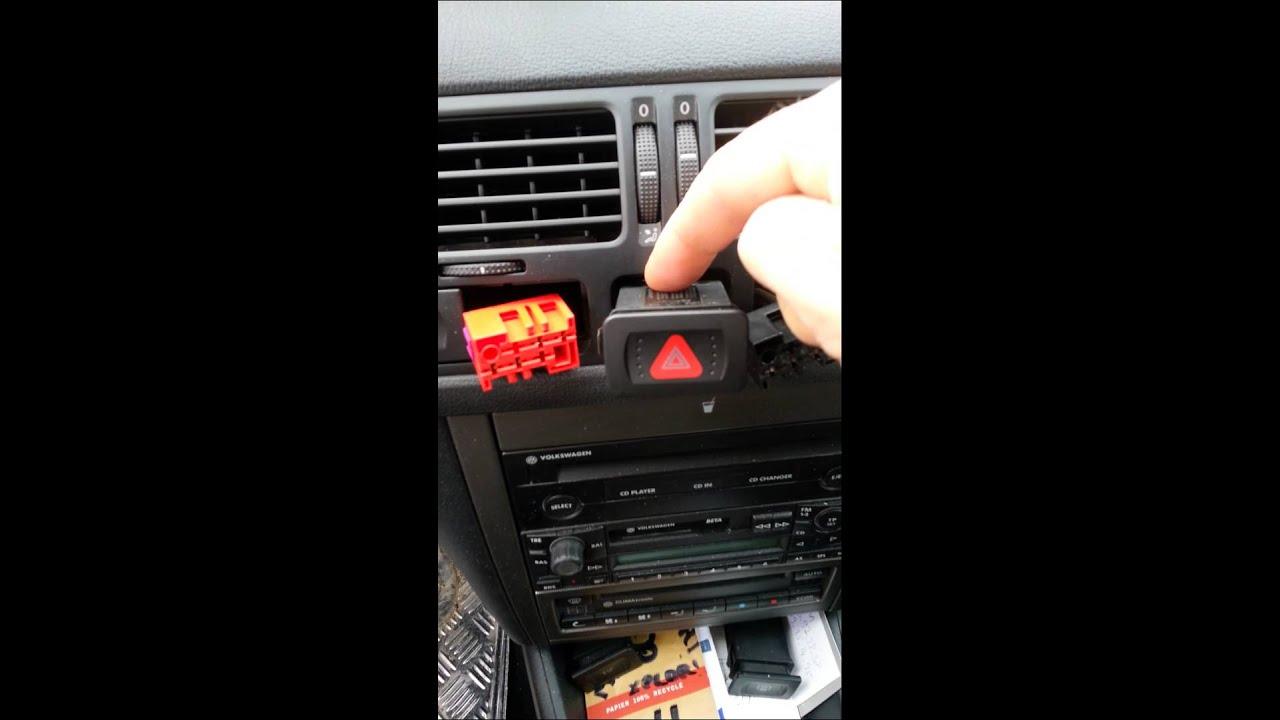 demontage airbag volant comodos volkswagen bora youtube