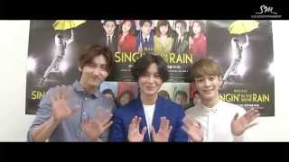 Supportive Message to the musical [SINGIN' IN THE RAIN]