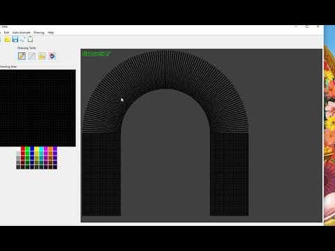 Pixel LED Arch Gate Design Software in Progress.