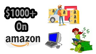 $1000 a MONTH on Amazon | Amazon FBA/Online Arbitrage