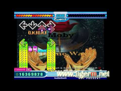 Stepmania - Moby - Extreme Ways [tigerm Oni Challenge] (foot Job!) video