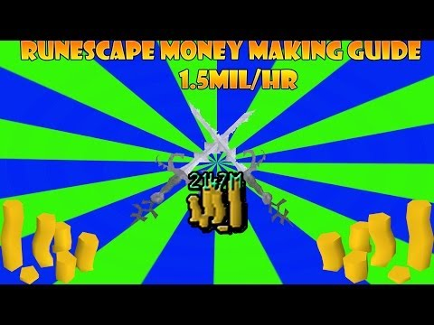 Runescape- F2P Fastest Money Making Guide 1.5Mil/HR (2014)