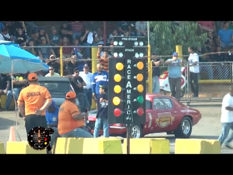 Piques y algo mas 1ra valida profesional the valley dragway 2012  bloque 1