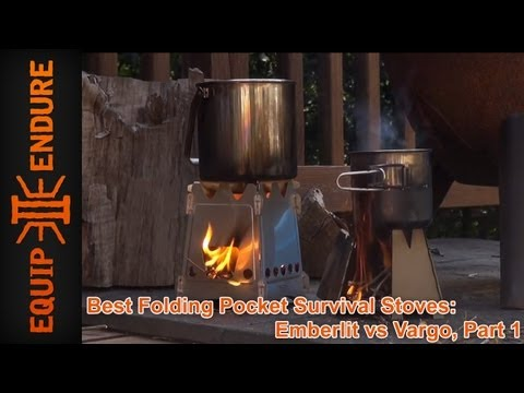 Best Folding Pocket Survival Stoves: Emberlit vs Vargo. Part 1 by Equip 2 Endure