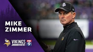 Mike Zimmer: I Love The Things We're Doing Offensively | Minnesota Vikings