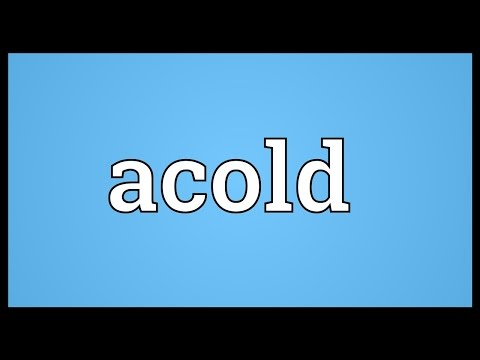 Header of acold