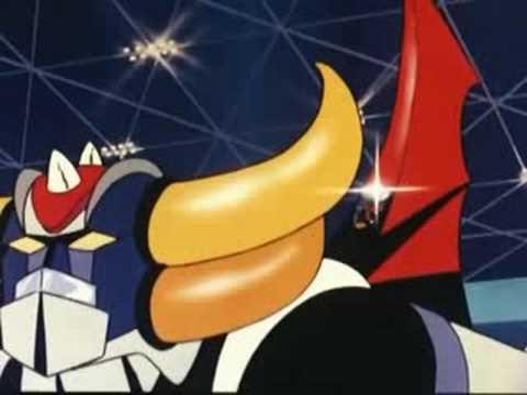 Cartoni animati - Goldrake - Uscita dalla base.