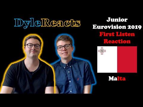 Junior Eurovision 2019 - Malta - REACTION #DyleReacts