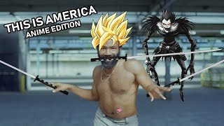 This Is America Fits With Anime