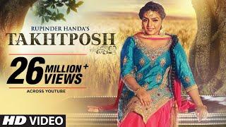 Rupinder Handa: TAKHATPOSH (Full Video Song) | Desi Crew | New Punjabi Songs 2016