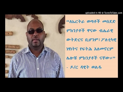 Interview With Dr Dawit Woldu - SBS Amharic