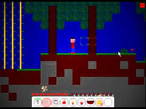 2D Minecraft in Flash - Mine Blocks 1.17