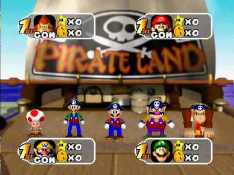 Mario Party 2 (1999) Gameplay
