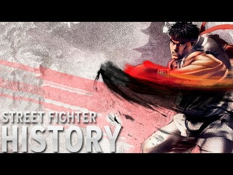History of - Street Fighter (1987-2014) klip izle