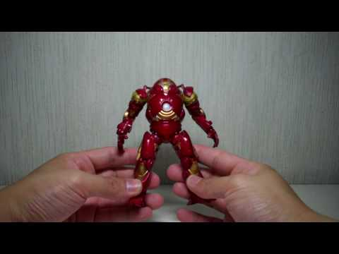 Iron Man 2 Proving Ground Concept Series Holographic Mark VI, Hulkbuster, Recon War Machine