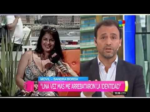 Fuerte cruce en vivo entre Sandra Borda y Adrián Pallares