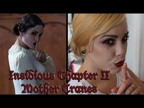 Mother Cranes from Insidious Chapter 2 | Halloween Makeup Tutorial