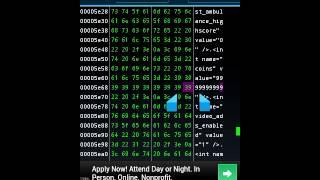 Hex edit any app part 2