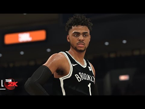 NBA 2K18 D'Angelo Russell Screenshot and Rating!