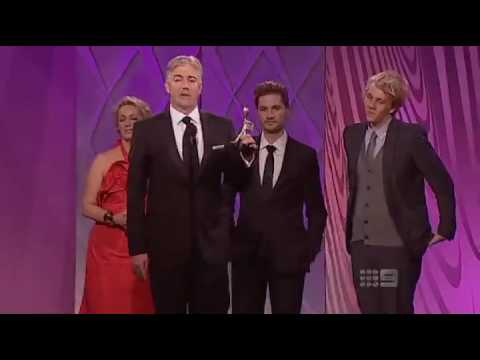 rachael finch logies. Shaun Micallef Accepts Logie