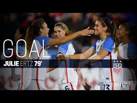 WNT vs. New Zealand: Alex Morgan Goal - Sept. 15, 2017