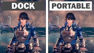 Astral Chain | Dock vs Handled | Graphics Comparison & Framerate Test