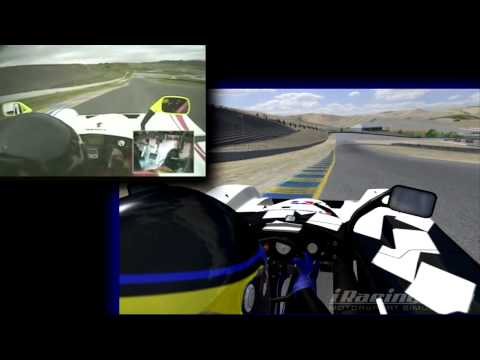 Track Comparison: Infineon Raceway Video