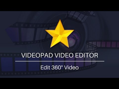 Edit 360 Video with VideoPad Video Editor   Tutorial