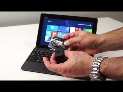ASUS Transformer Book T100 Windows 8.1. Intel Bay Trail Tablet Review