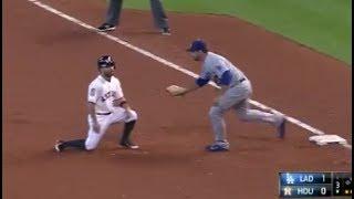 MLB Great Pickoff Moves