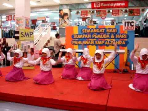 Seni Tari  Tarian Daerah Indonesia  By  Al Zahra Vila Dago Pamulang video