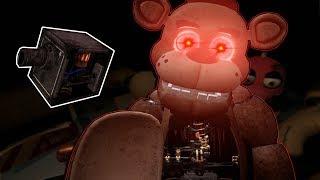 I BROKE FREDDY'S MUSIC BOX! - Five Nights at Freddy's VR: Help Wanted - FNAF Survival