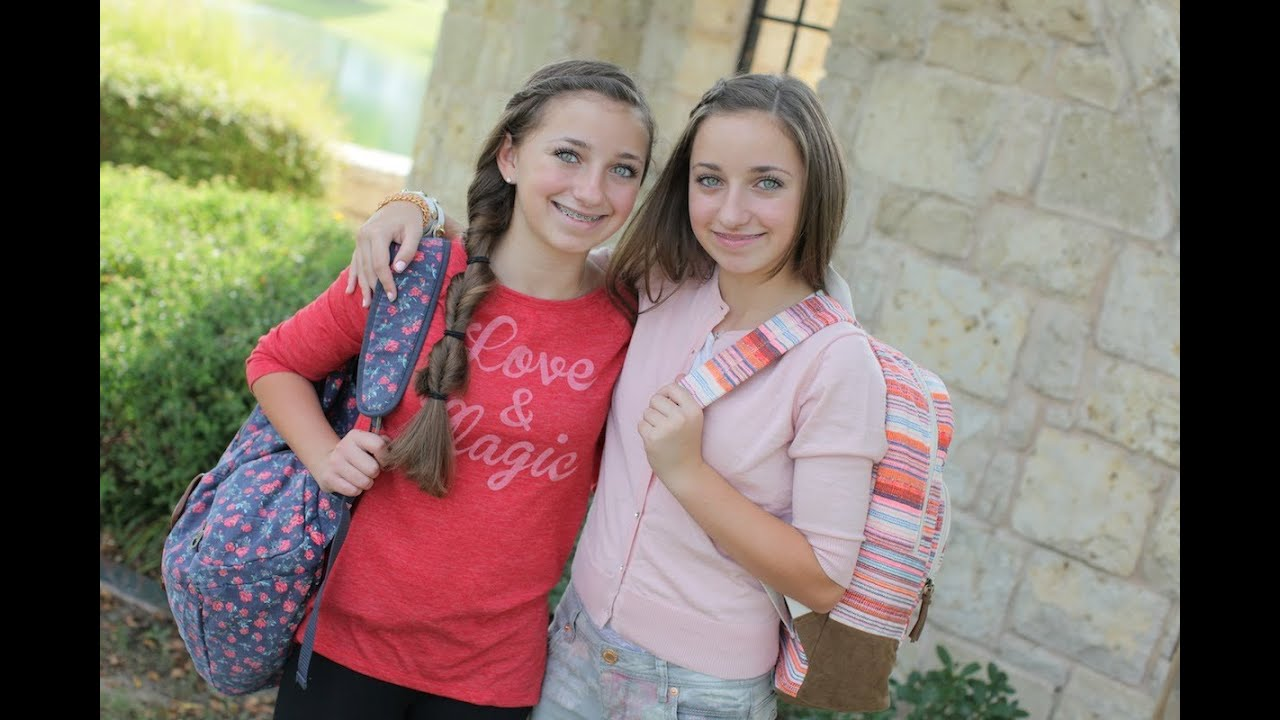 Back To School Fashion Brooklyn And Bailey Youtube