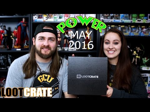 Loot Crate May 2016 - Power
