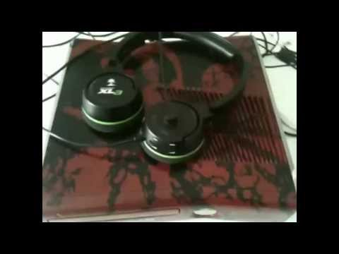 Review Headset Turtle Beach ear force XLA e Xbox 360 Gears of War