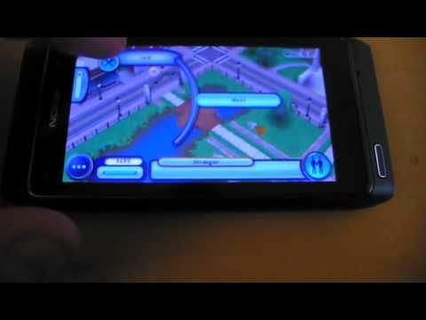 Sims 3 on Nokia N8