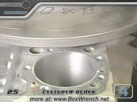 Cylinder Block Machining Video - Engine Building DVD