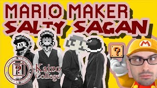 "Mario Maker - Salty Sagan's SpeSHELL Sauce & Other ""Fun"" Kaizo Levels by ME (w/ Research Q&A)"