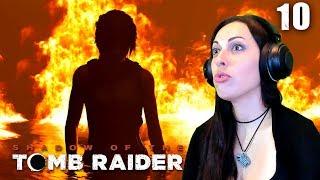 Shadow of the Tomb Raider Walkthrough Part 10 - Lara's Having a BAD Day