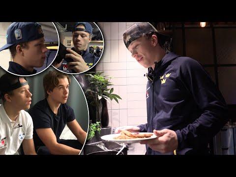 Alexander Holtz och Lucas Raymond – Road to the NHL – ep 2 (Eng subtitles)